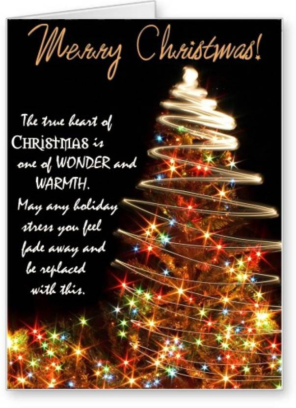 Christmas Greeting Cards.Lolprint Merry Christmas Greeting Card Price In India Buy