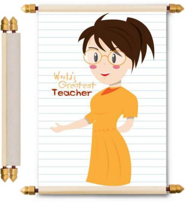 Lolprint teachers day gifts scroll greeting card price in india lolprint teachers day gifts scroll greeting card m4hsunfo