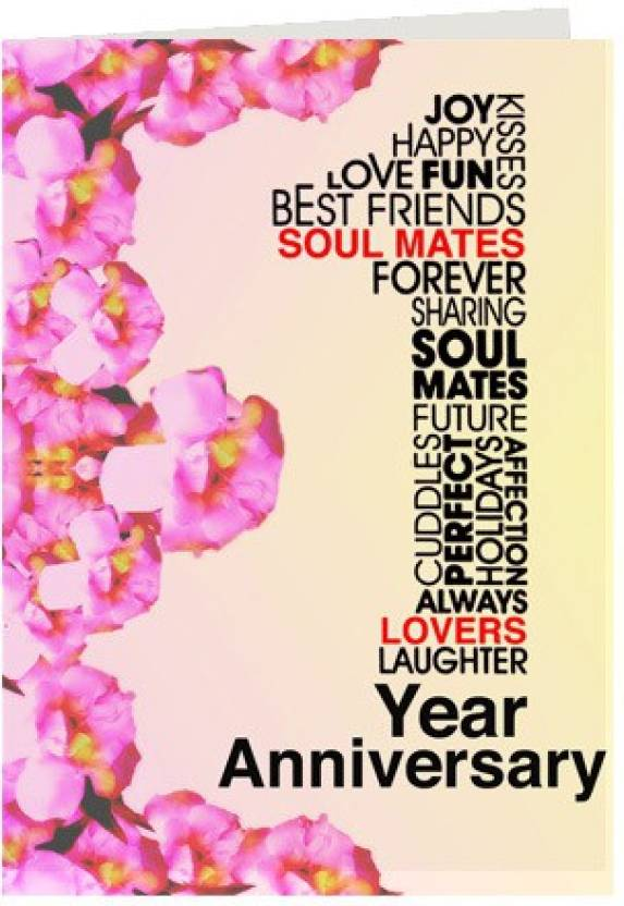 Gifts by meeta first anniversary wishes greeting card price in india gifts by meeta first anniversary wishes greeting card m4hsunfo
