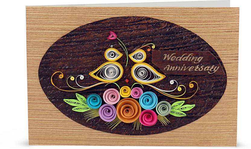 Handcrafted emotions wedding anniversary greeting card price in handcrafted emotions wedding anniversary greeting card m4hsunfo