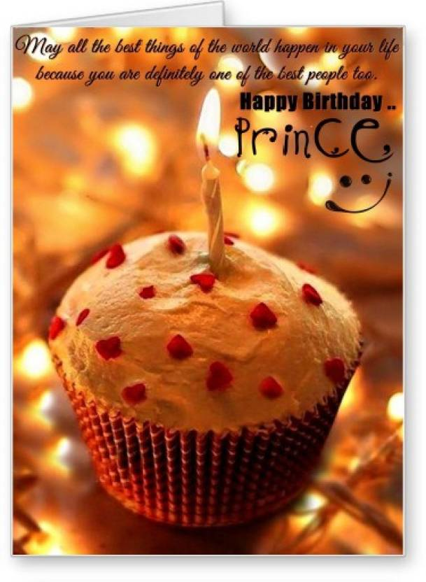 Lolprint Happy Birthday Prince Greeting Card Price In India Buy