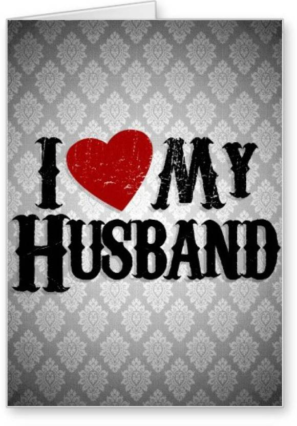 Lolprint I Love My Husband Greeting Card Price In India Buy