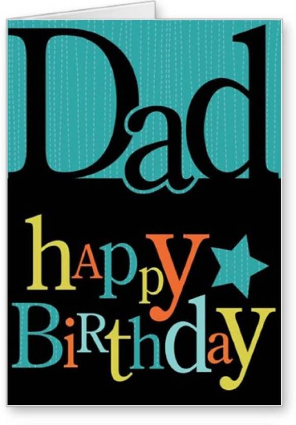 Lolprint Dad Happy Birthday Greeting Card Price In India