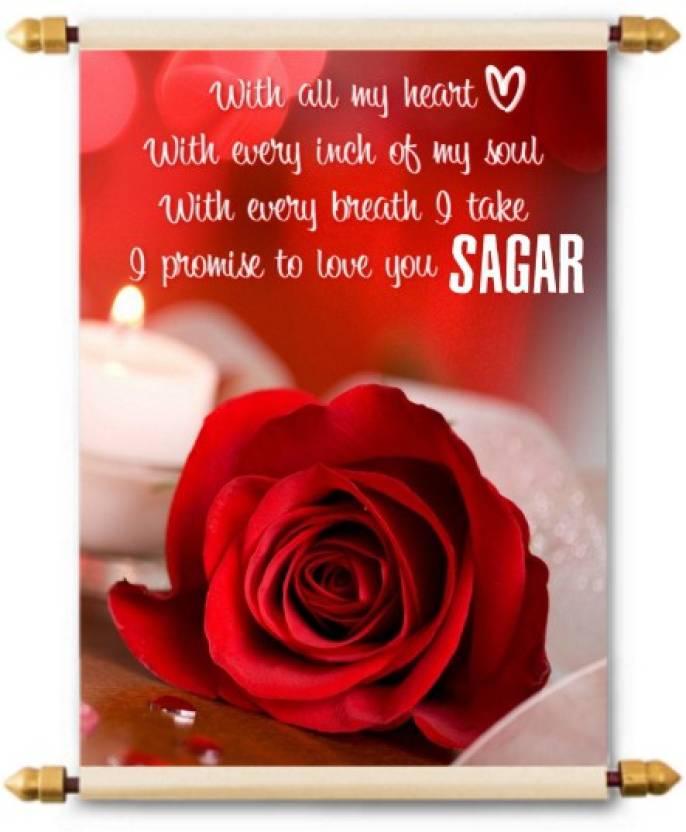 Lolprint i love you sagar scroll greeting card price in india buy lolprint i love you sagar scroll greeting card m4hsunfo