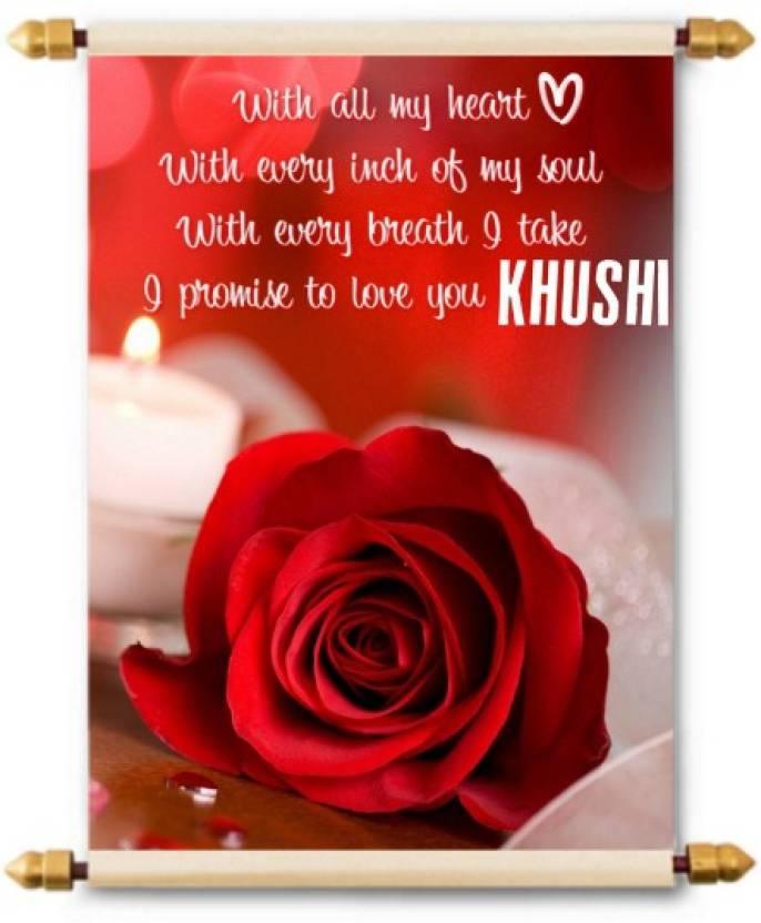 Lolprint i love you khushi scroll greeting card price in india buy lolprint i love you khushi scroll greeting card m4hsunfo