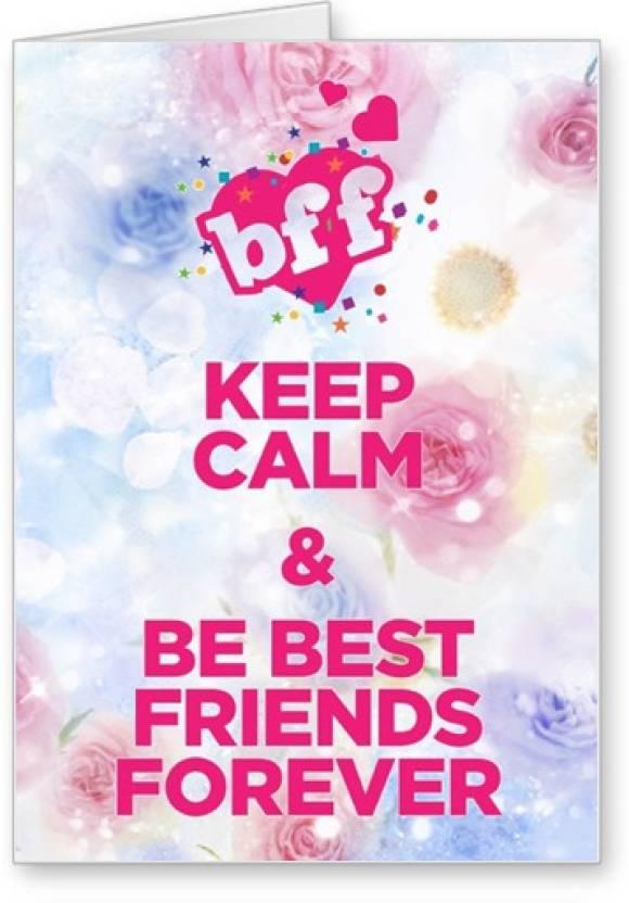Lolprint keep calm friendship day greeting card price in india buy lolprint keep calm friendship day greeting card m4hsunfo