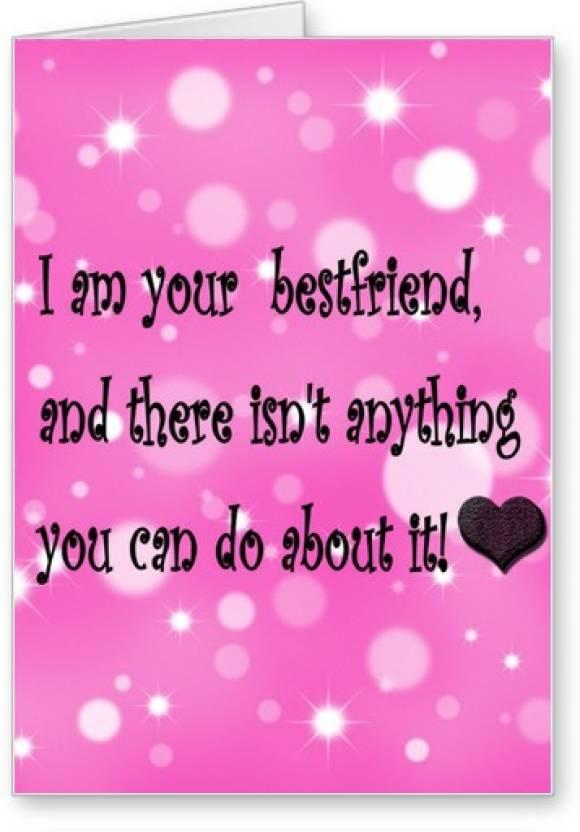Lolprint best friend friendship day greeting card price in india lolprint best friend friendship day greeting card m4hsunfo