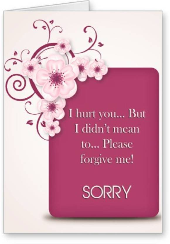 Lolprint sorry greeting card price in india buy lolprint sorry lolprint sorry greeting card m4hsunfo