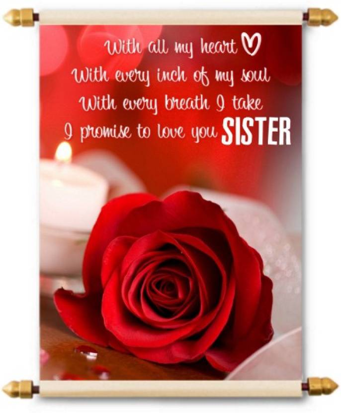 Sister In Law Birthday Cards Various Designs Available