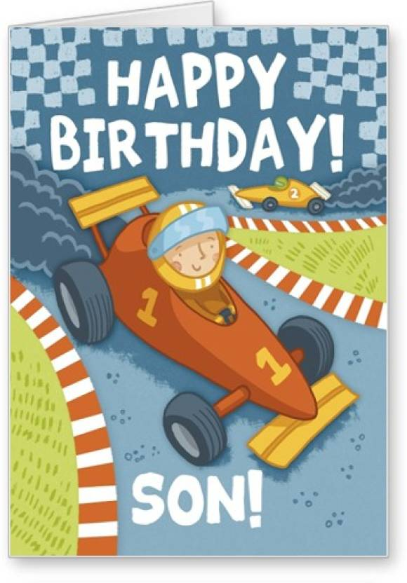 Lolprint Happy Birthday Son Greeting Card Price In India Buy