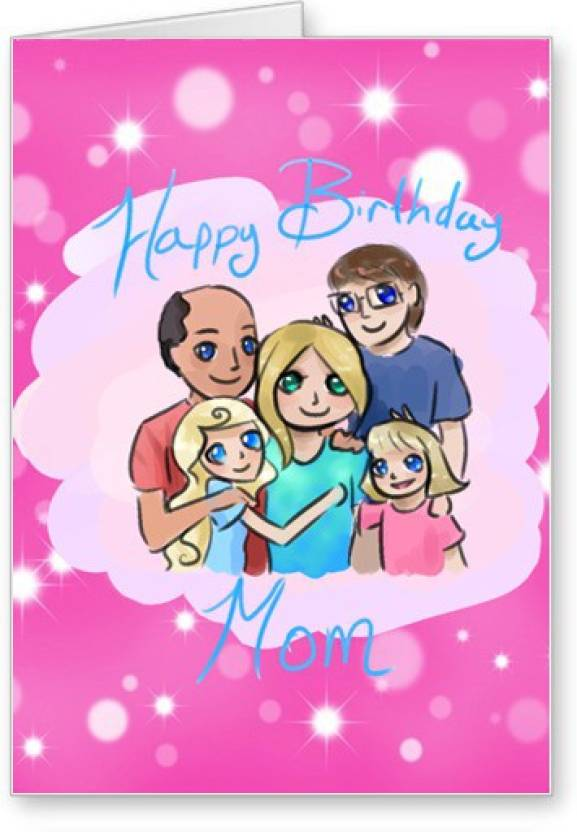 Lolprint Mom Happy Birthday Greeting Card
