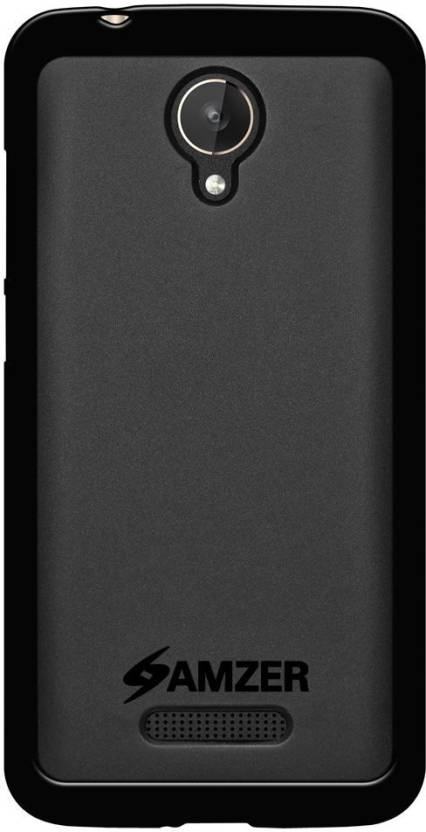 buy online 01c38 45ddf Amzer Back Cover for Micromax Canvas Spark Q380 - Amzer : Flipkart.com