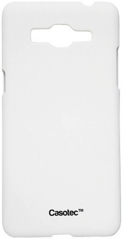 Casotec Back Cover for Samsung Galaxy Grand Prime White