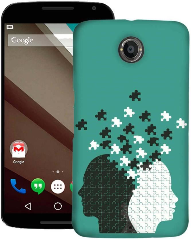 AmerakiDesignHouse Back Cover for Motorola Google Nexus 6