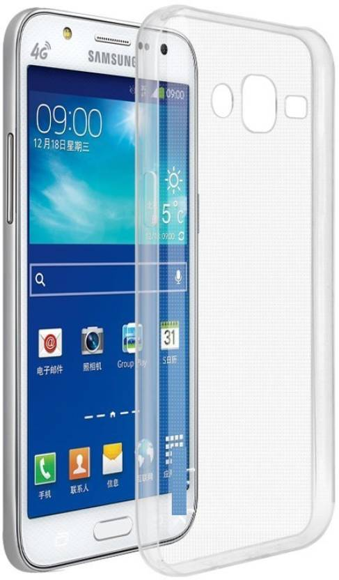 Cover Alive Back Cover for SAMSUNG Galaxy On8 Transparent