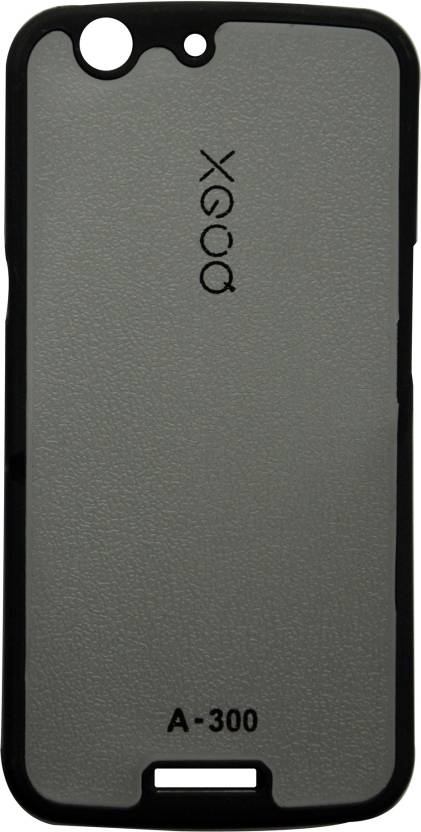premium selection 1ca7d e4c72 XGOQ Back Cover for Micromax Canvas Gold A300