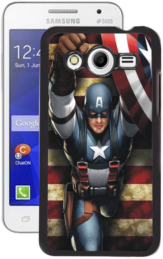 Fuson Back Cover for Samsung Galaxy Core 2 (SM-G355H)