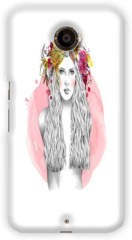 AMY Back Cover for Motorola Nexus 6