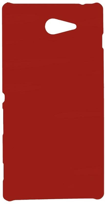 Spicesun Back Cover for Sony Xperia M2D2302 Red
