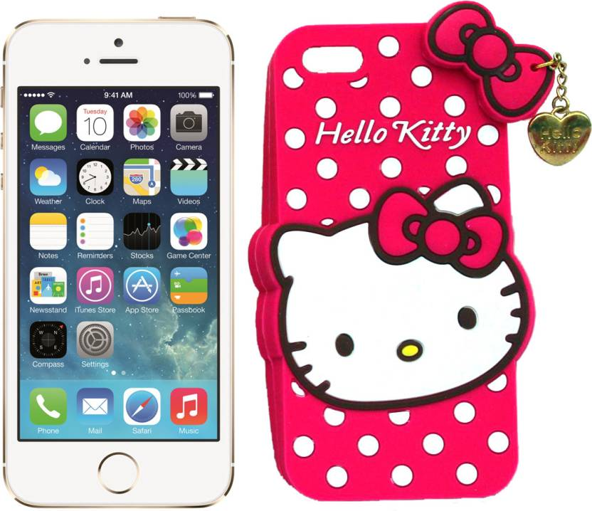 best website 509b5 c653e Hello Kitty Back Cover for Apple iPhone 5s