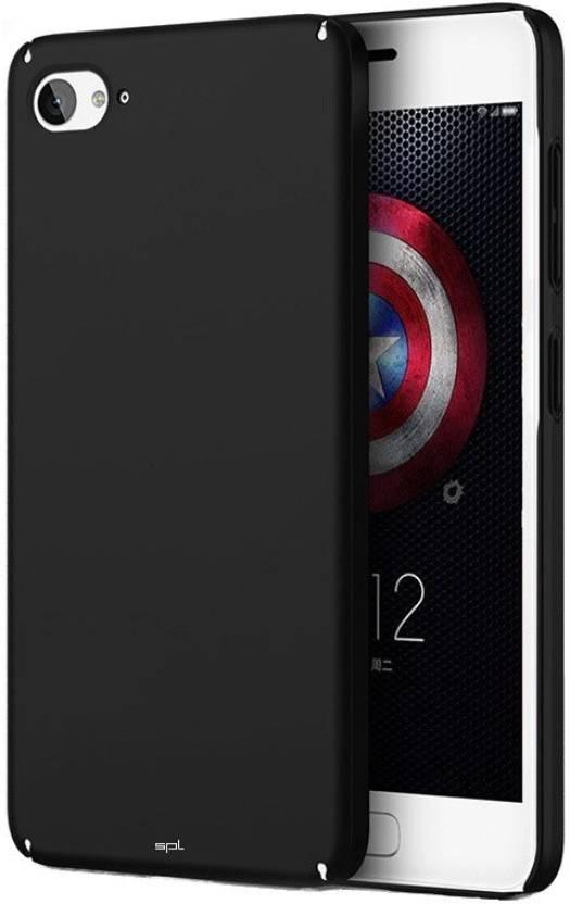 SPL Back Cover for Lenovo Z2 Plus (Black, Plastic)