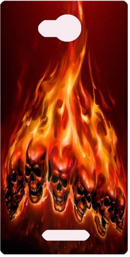 Amagav Back Cover for Lava A68