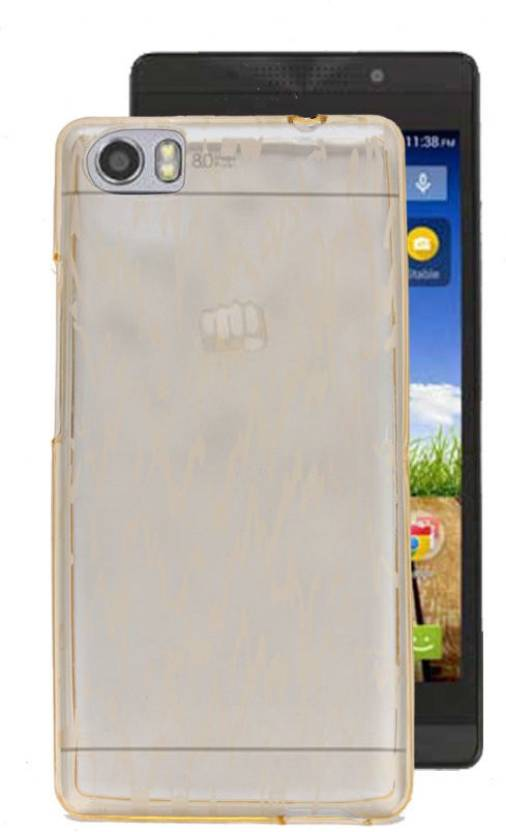 best loved 86a14 6d7c7 Gadget Decor Back Cover for Micromax Canvas Fire 4G Plus Q412 ...