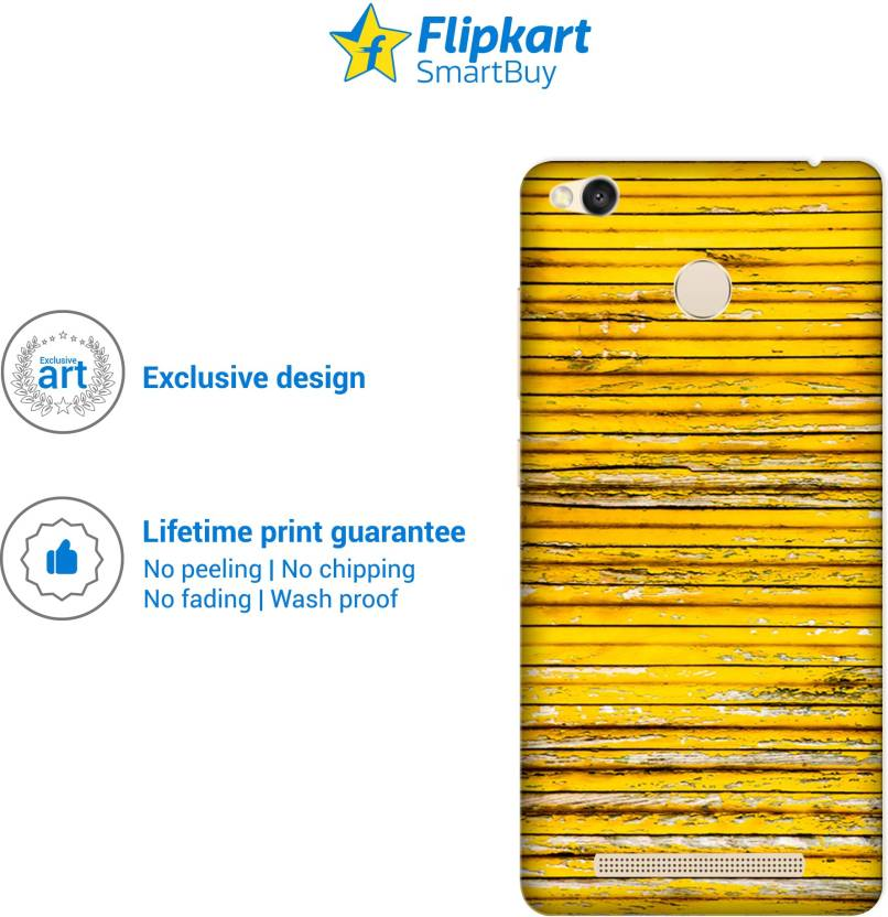 Flipkart SmartBuy Back Cover for Mi Redmi 3S Prime