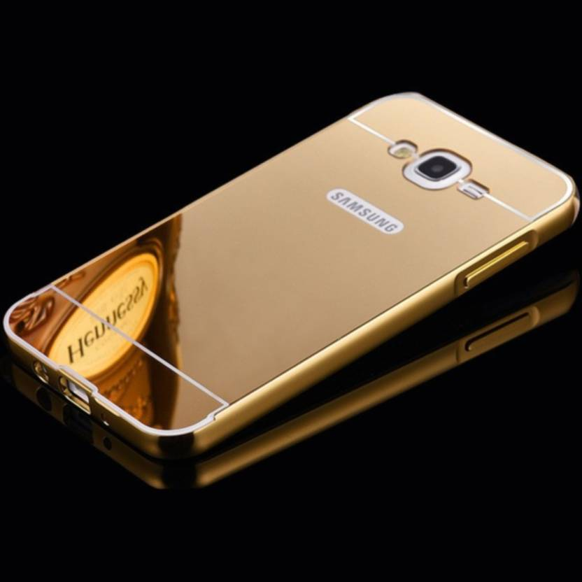 Spectra Back Cover for Samsung Galaxy Grand Prime (Golden, Metal, Plastic)