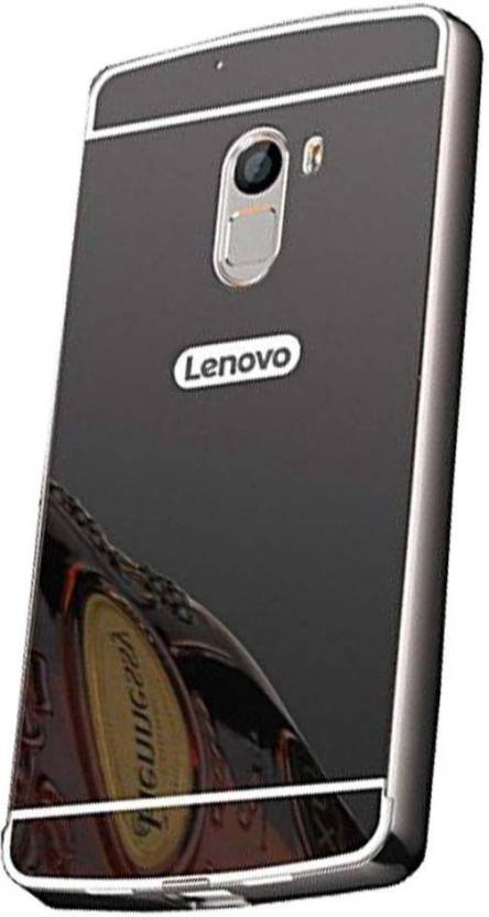 biggest discount 8dc8b c8e65 Angel 1405 Back Cover for Lenovo Vibe K4 Note- Black MIRROR