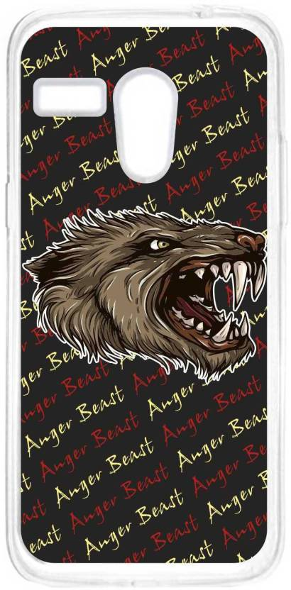 Anger Beast Back Cover for Moto G (1st Gen)