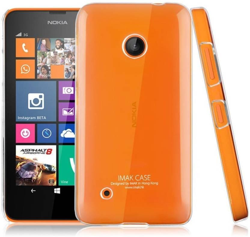 Heartly Back Cover for Nokia Lumia 530 Transparent