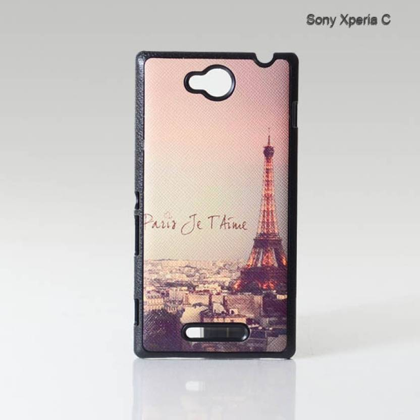 reputable site aab72 a1b40 Mobstyle Back Cover for Sony Xperia C - Mobstyle : Flipkart.com