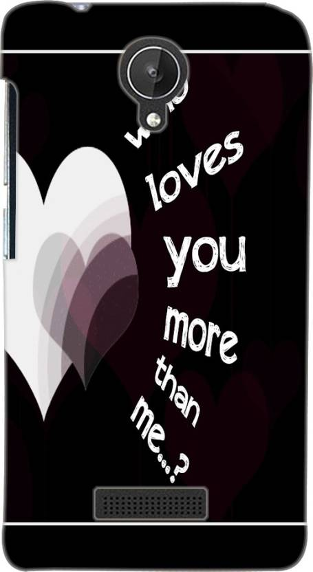 Farrow Back Cover for Micromax Canvas Spark Q380
