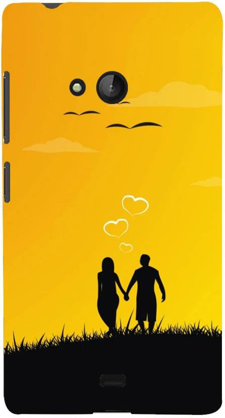 Mobile Makeup Back Cover for Microsoft Lumia 540