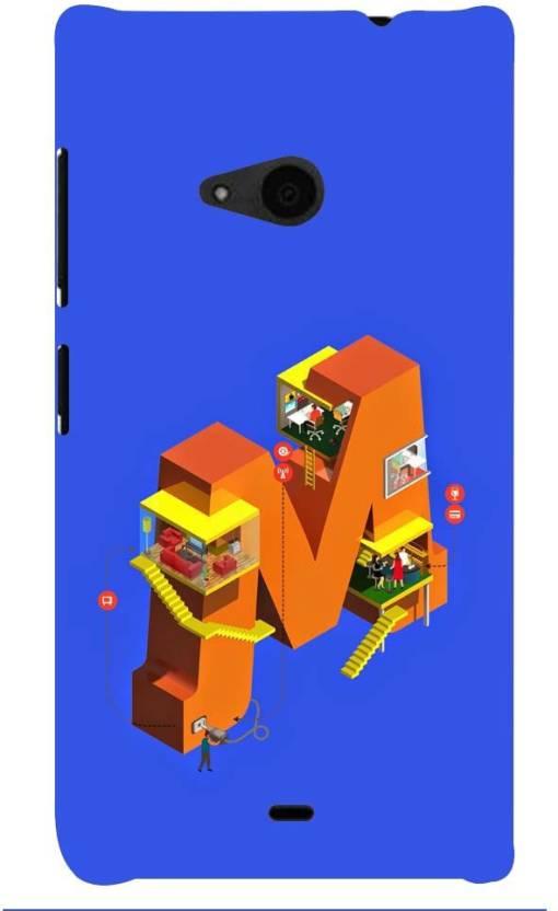 Mobile Makeup Back Cover for Microsoft Lumia 535