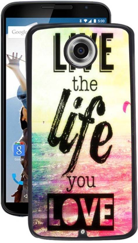 PrintRose Back Cover for Motorola Google Nexus 6