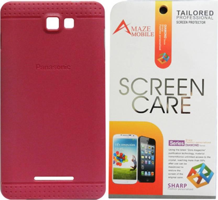 buy online 319a4 5026f Amaze Mobile Back Cover for Panasonic P81 - Amaze Mobile : Flipkart.com