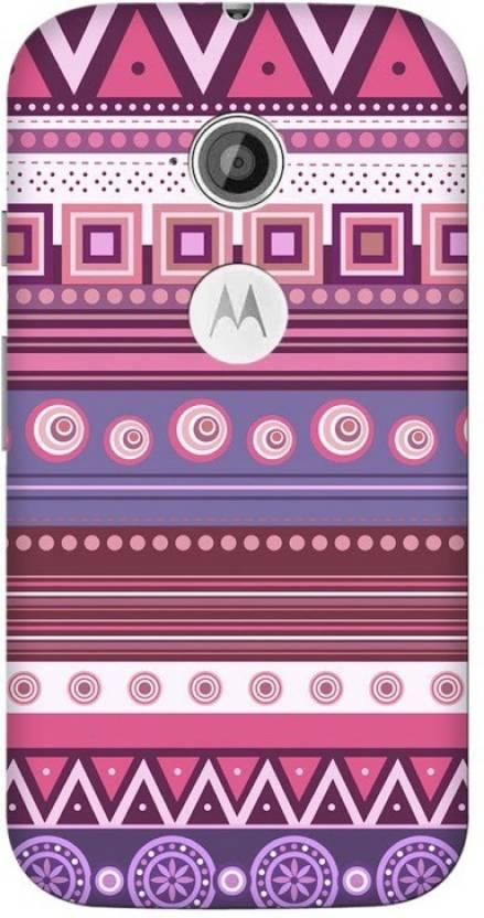 Blink Ideas Back Cover for Motorola Moto E (2nd Gen) 4G