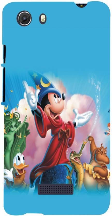 Fuson Back Cover for MIcromax Canvas Unite 3 Q372