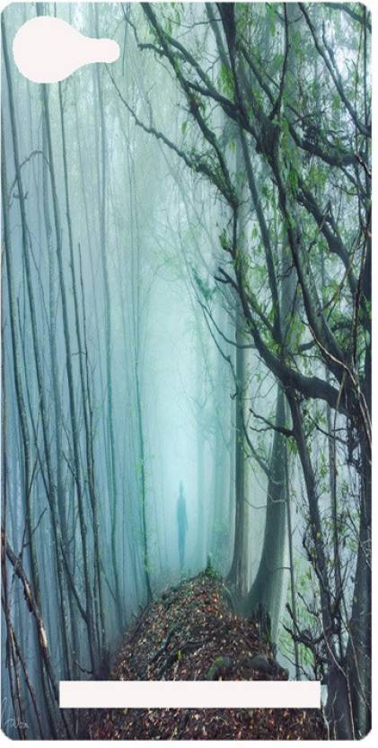 Amagav Back Cover for Lyf Wind 1