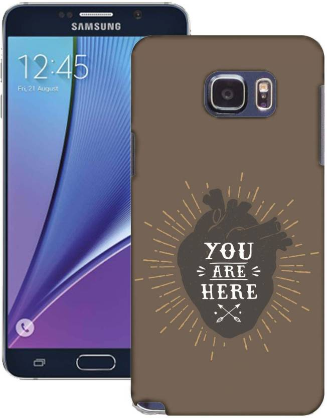 AmerakiDesignHouse Back Cover for Samsung Galaxy Note5