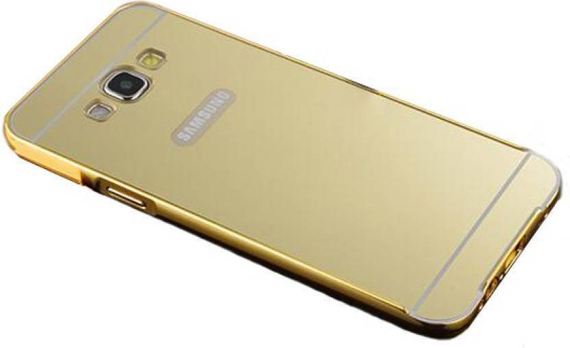 huge discount ed85b 79446 Aayan Back Cover for samsung galaxy on7 pro (golden)