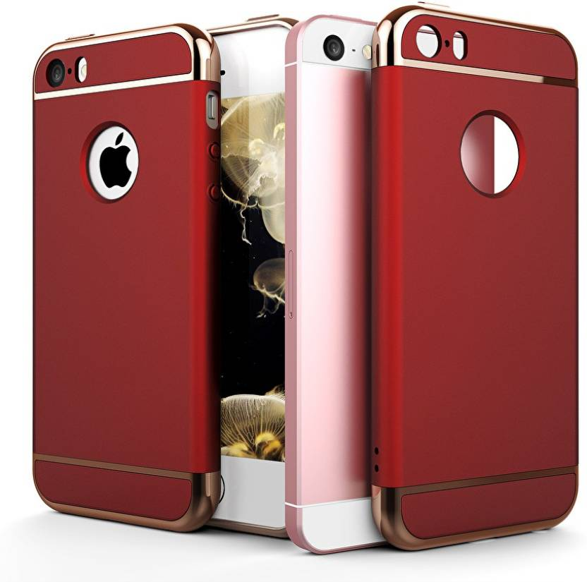 GoldKart Back Cover for Apple iPhone 5s Red Chrome
