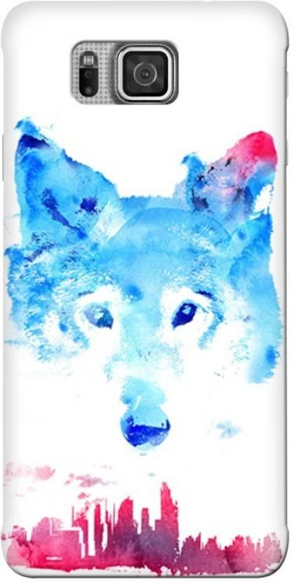 Blink Ideas Back Cover for Samsung Galaxy Alpha