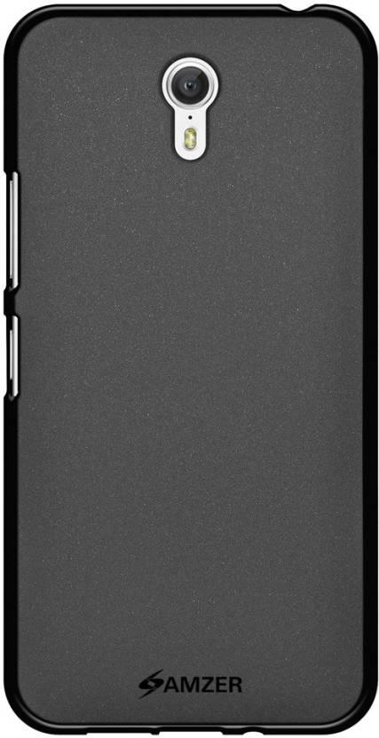 Amzer Back Cover for Lenovo ZUK Z1 (Black, Rubber)