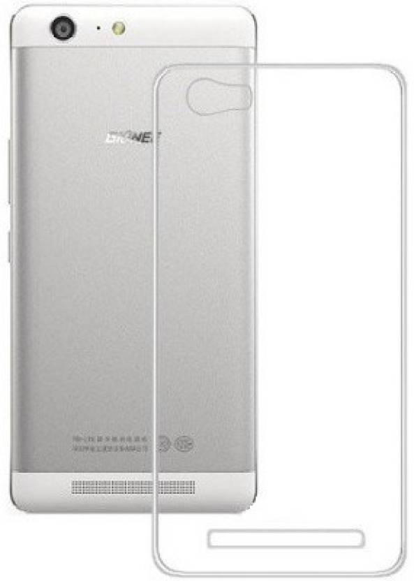 For Gionee Cover In V185 Back Colorkart Case Transparent shows