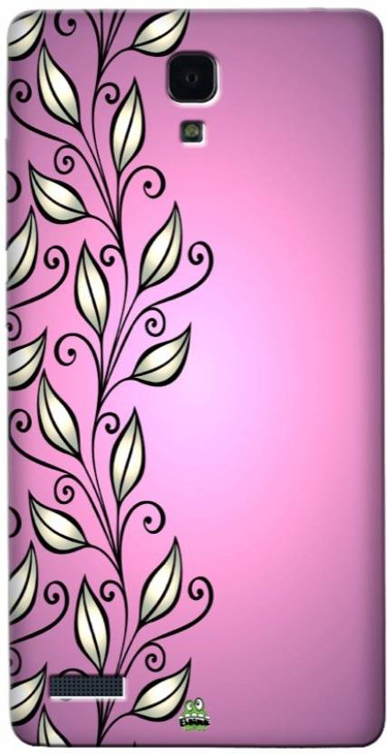 Blink Ideas Back Cover for Mi Redmi Note 4G