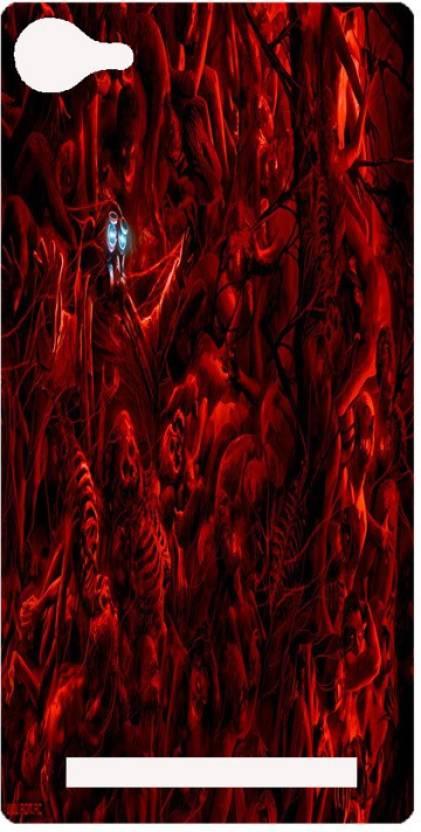 Amagav Back Cover for Lava A76
