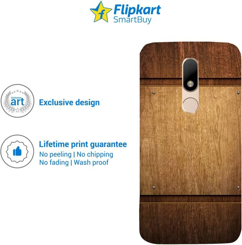 Flipkart SmartBuy Back Cover for Moto M (Multicolor)